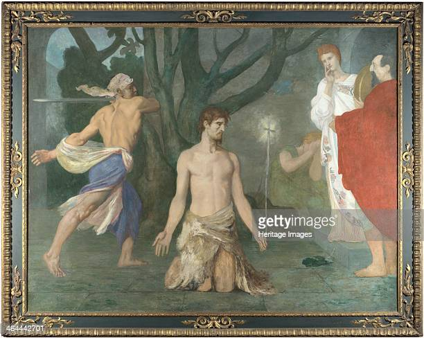 The Beheading of Saint John the Baptist c 1869 Found in the collection of the National Gallery London