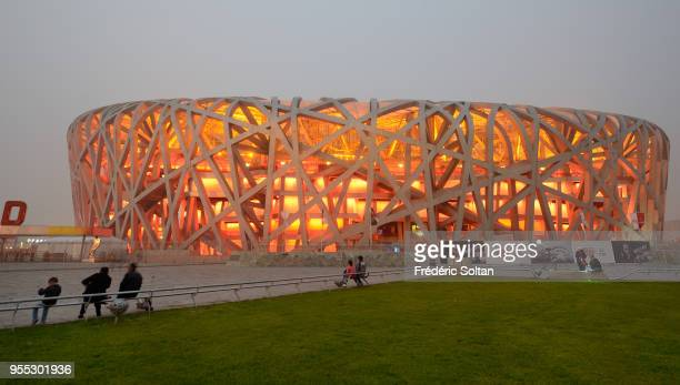 The Beijing National Stadium, aka the Bird's Nest, was designed for use throughout the 2008 Summer Olympics and Paralympics in Beijing on October 08,...