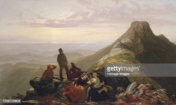 The Belated Party on Mansfield Mountain, 1858. Artist Jerome Thompson.