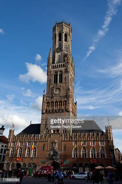 CONTENT] The Belfry of Bruges in Belgium The Belfry is a bell tower and was used to warn people in case of attack