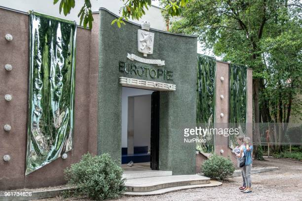 The belgian pavilion at Giardini Area at the 16th edition of the International Venice Architecture Biennale, in Venice, Italy, on May 23, 2018. The...