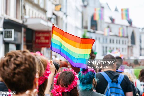 The Belgian pride parade 2017