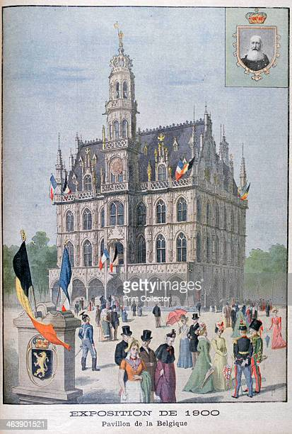 The Belgium pavilion at the Universal Exhibition of 1900 Paris 1900 Exposition Universelle of 1900 was a world's fair held in Paris France to...