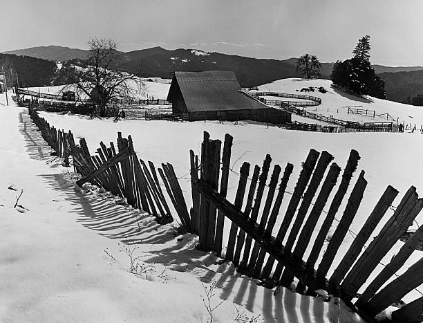 Heavy Snowfall Hits Mendocino County