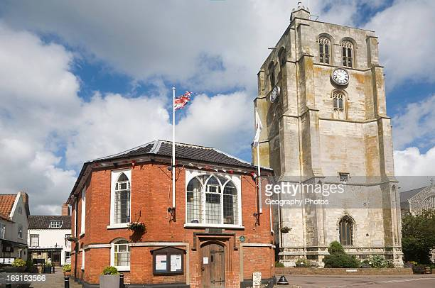 The Bell Tower at Beccles Suffolk England