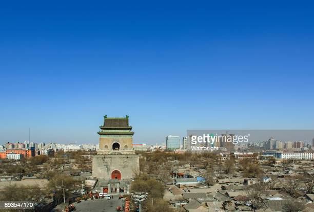 The Bell Tower in Beijing,China.