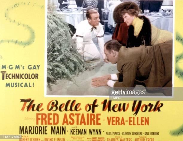 The Belle Of New York lobbycard Fred Astaire Keenan Wynn Marjorie Main 1952