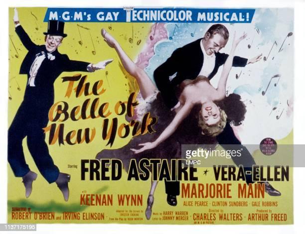 The Belle Of New York lobbycard Keenan Wynn Fred Astaire VeraEllen Marjorie Main 1952