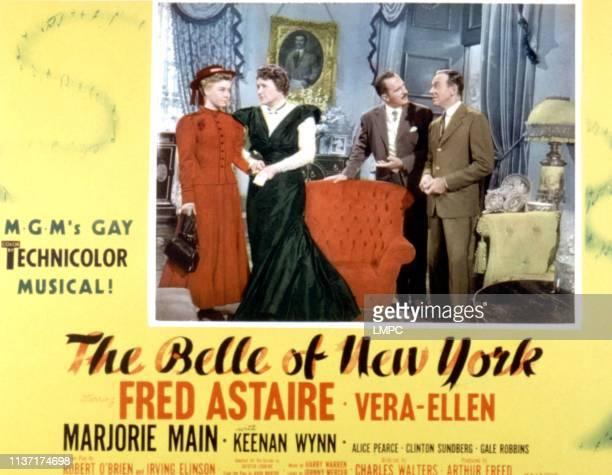 The Belle Of New York lobbycard VeraEllen Marjorie Main Keenan Wynn Fred Astaire 1952