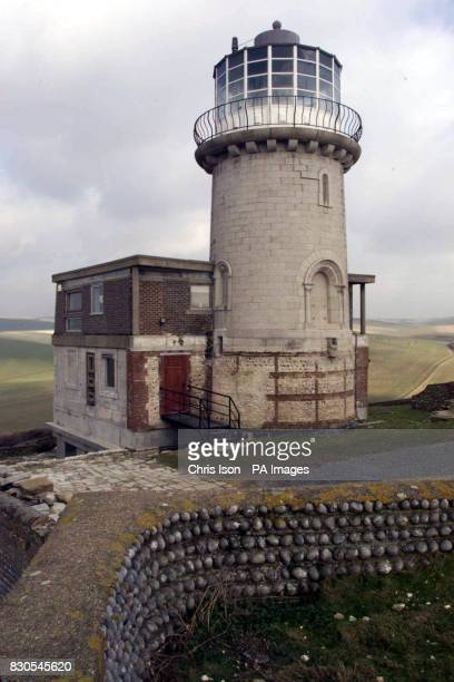 The Belle Tout lighthouse at Beachy Head in East Sussex whose owners Mark and Louise Roberts are embroiled in a controversial deal with Eastbourne...