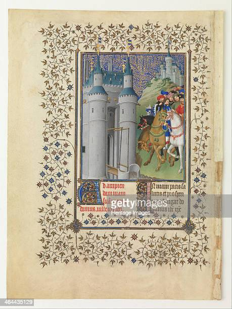 The Belles Heures of Jean de France Duc de Berry 14121416 Found in the collection of the The Cloisters Museum and Gardens