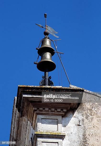 The bells on the Clock tower Cisternino Le Murge Apulia Italy