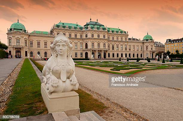 CONTENT] The Belvedere Palace is built by Prince Eugene of Savoy in the 3rd district of Vienna southeast of the city center baroque palace The...