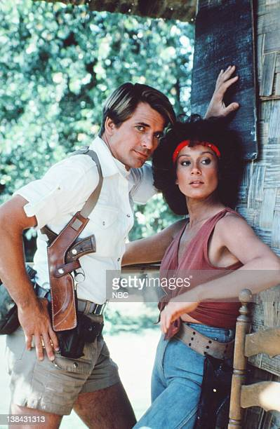 TEAM The Bend in the River Part 1 2 Episode 2 3 Pictured Dirk Benedict as Templeton 'Faceman' Peck Marta DuBois as Bobbi Cardena