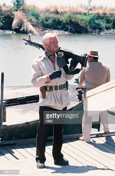 TEAM The Bend in the River Part 1 2 Episode 2 3 Pictured George Peppard as John 'Hannibal' Smith