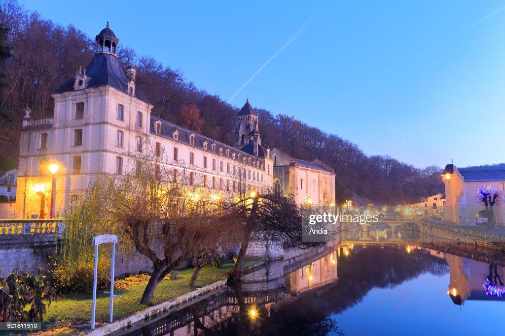 Benedictine Abbey of Brantome. : News Photo