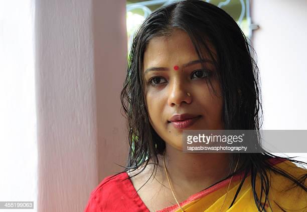 the bengali girl - bengali girl stock photos and pictures
