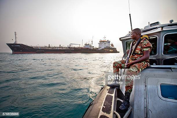 The Benin navy's antipiracy team on on patrol in the Bight of BeninPiracy off the small west African country of Benin has risen sharply and fears are...