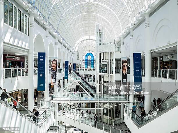 the bentalls shopping centre - kingston upon thames stock pictures, royalty-free photos & images