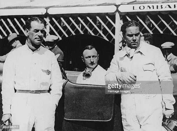 The Bentley Boys c1928c1930 Left to right Frank Clement Sir Henry Birkin and Woolf Barnato Bentleys dominated the Le Mans 24 hour race in its early...