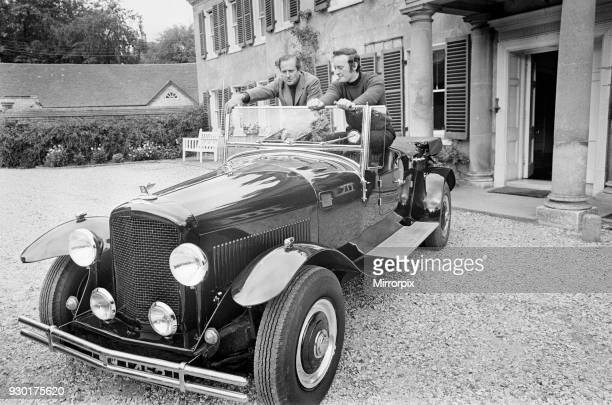 The Bentley Car being driven by enthusiasts in the Berkshire area on Britain during an October 1970 Bentley celebration day MK 6 chassis and running...