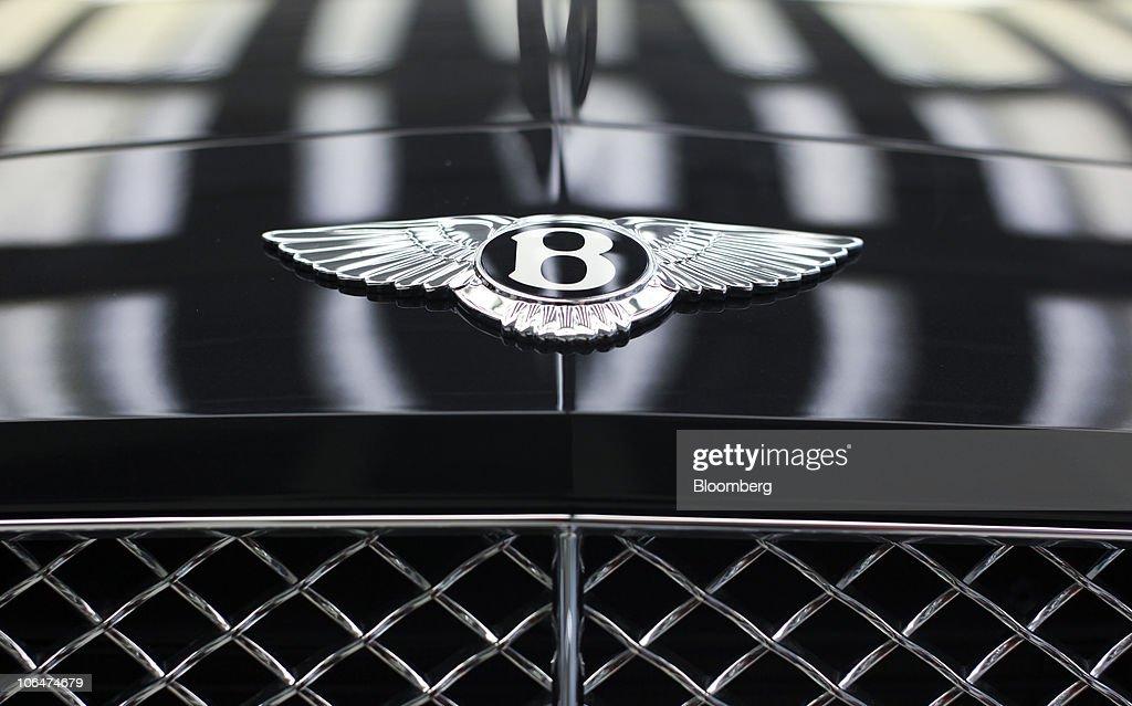Bentley Car Factory News Photo