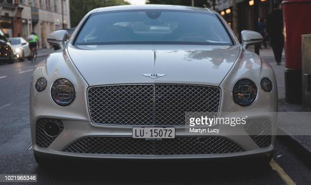 The Bentley Continental GT seen on Sloane Street London The new third generation Continental GT was first unveiled at the 2017 Frankfurt Motor Show...