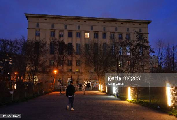 The Berghain club which is temporarily closed stands on March 13 2020 in Berlin Germany Berlin authorities are temporarily shuttering concert halls...