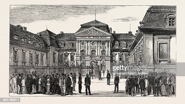 The Berlin Congress — The Rauziwill Palace Radziwill Palace Prince Bismarck's New Official Residence Where The Congress Meets Germany