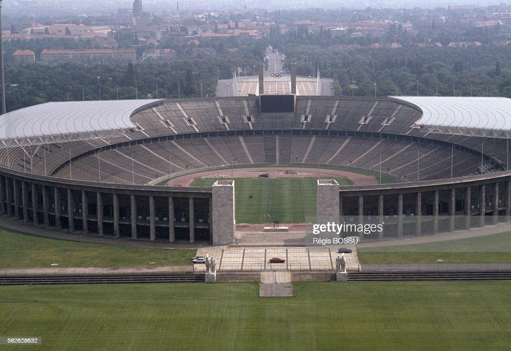Berlin Olympic Stadium : News Photo