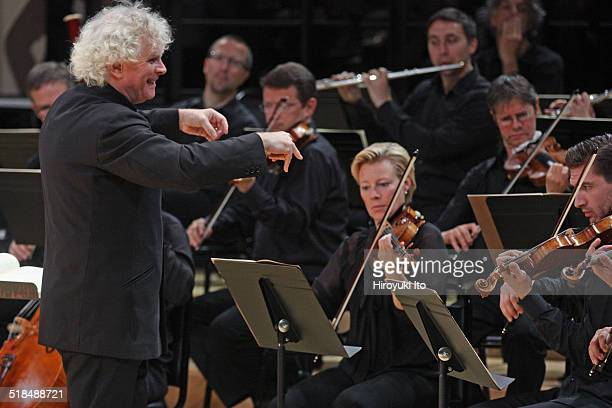 The Berlin Philharmonic performing Bach's St Matthew Passion at Park Avenue Armory as part of Lincoln Center's White Light Festival on Saturday...