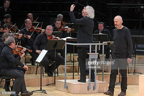 The Berlin Philharmonic performing Bach's 'St Matthew Passion' at Park Avenue Armory as part of Lincoln Center's White Light Festival on Saturday...