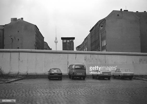 The Berlin Wall in Bernauer Strasse