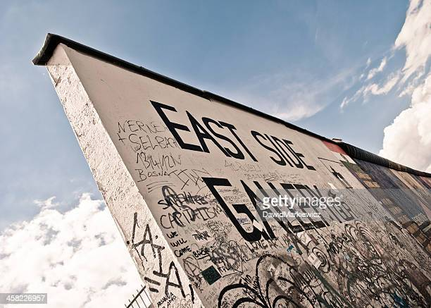 the berlin wall - east stock pictures, royalty-free photos & images