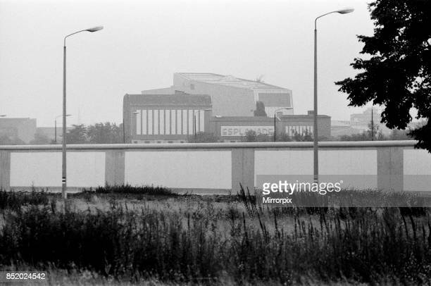 The Berlin Wall pictured is the spotless East wall 6th August 1984