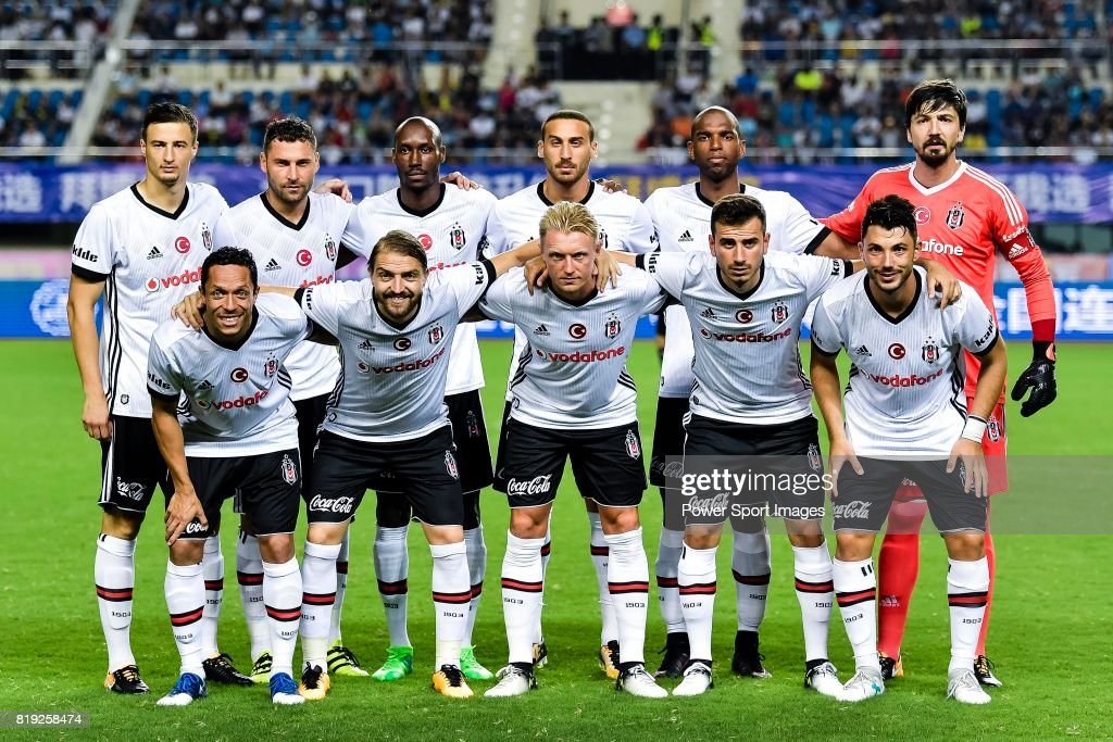 The Besiktas Istambul squad pose for team photo during the Friendly Football Matches Summer 2017 between FC Schalke 04 Vs Besiktas Istanbul at Zhuhai Sport Center Stadium on July 19, 2017 in Zhuhai, China.