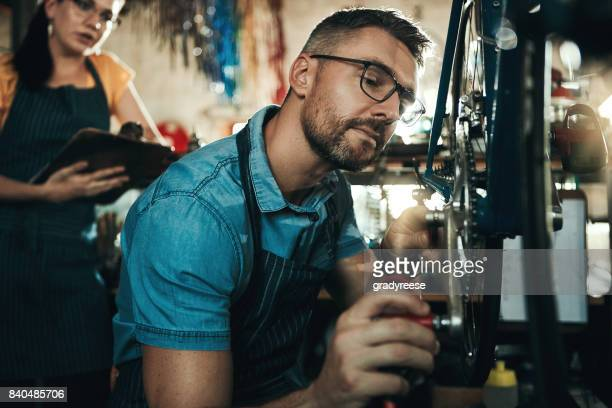 The best bicycle mechanics in town
