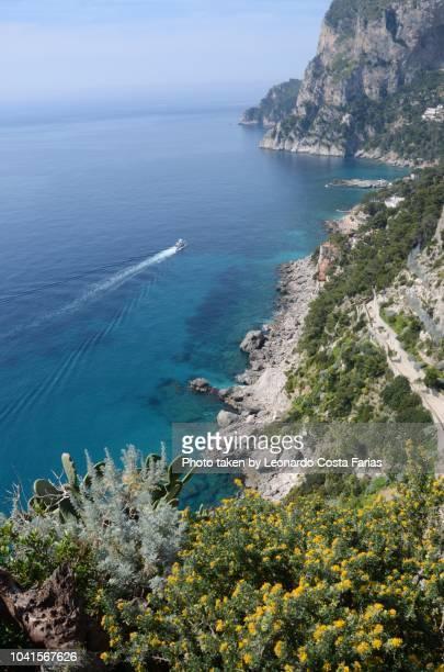 the best capri view - leonardo costa farias stock photos and pictures