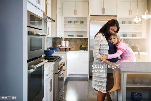 Het beste comfort komt van een moeder