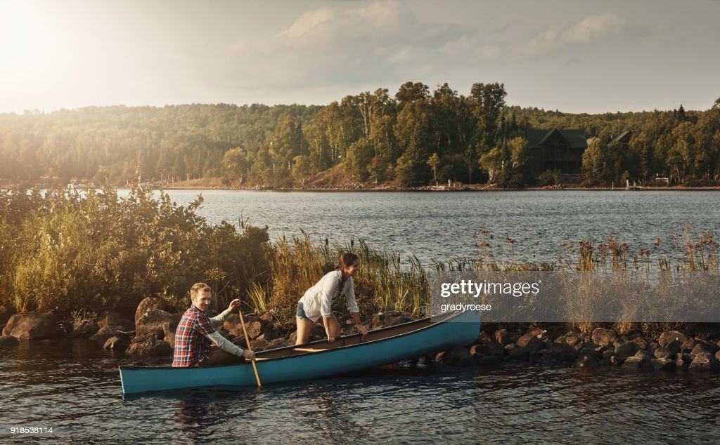 The Best Company For A Canoe Ride Stock Photo - Getty Images