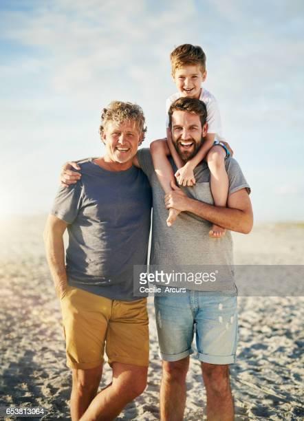 Die besten Väter bekommen Opa gefördert.