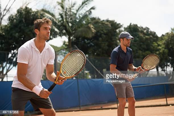 the best doubles team around - doubles stock photos and pictures