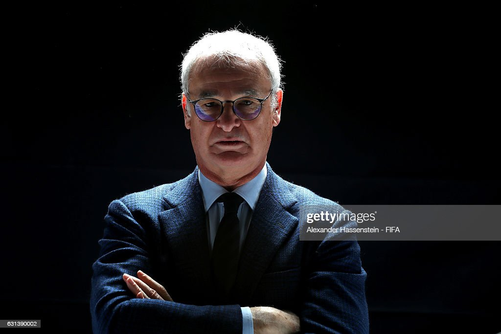 The Best FIFA Men's Coach nominee Claudio Ranieri of Italy and Leicester poses prior to The Best FIFA Football Awards at Kameha Zurich Hotel on January 9, 2017 in Zurich, Switzerland.