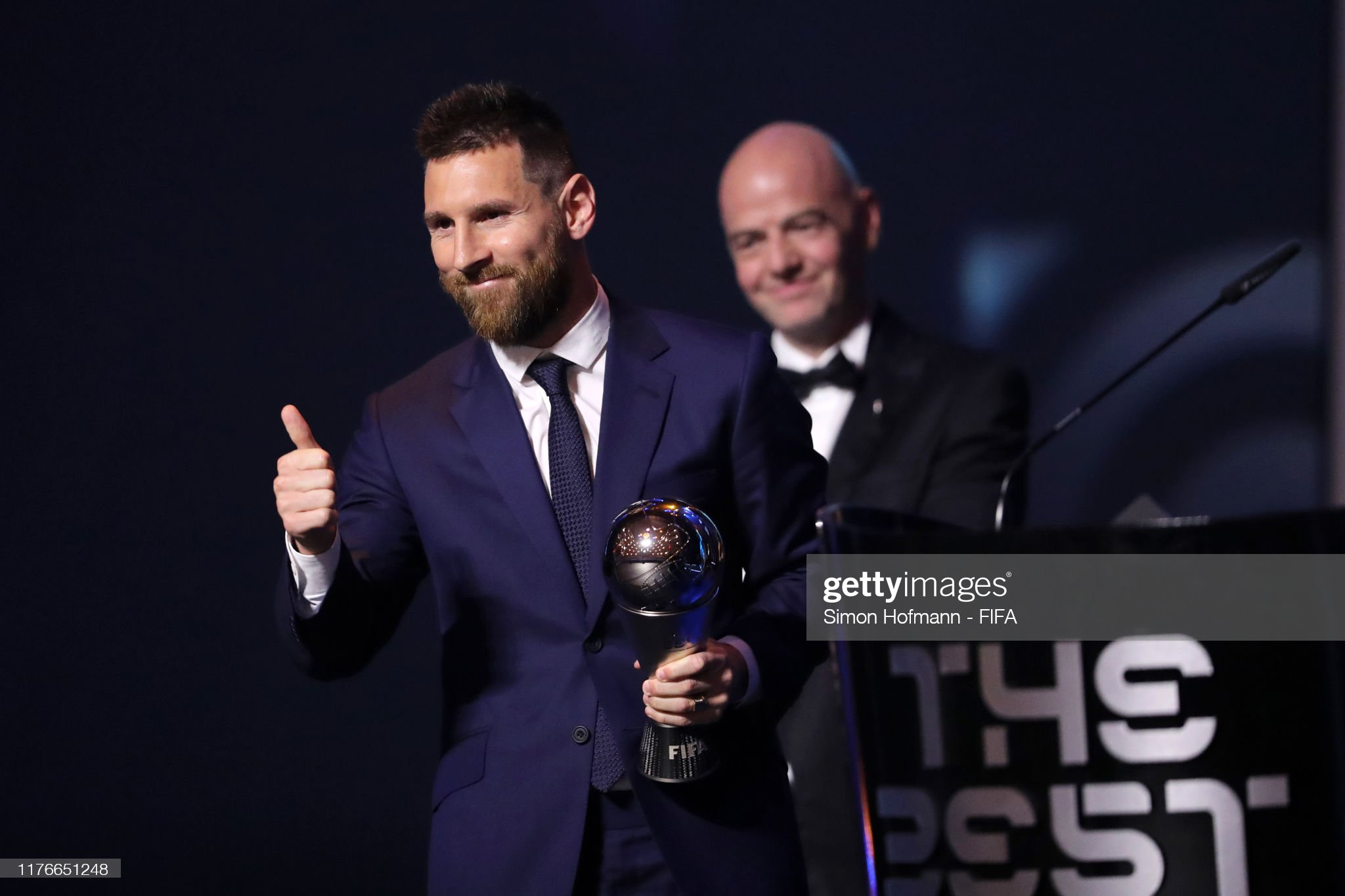 The Best FIFA Football Awards 2019 The-best-fifa-mens-player-award-winnrer-lionel-messi-of-fc-barcelona-picture-id1176651248?s=2048x2048