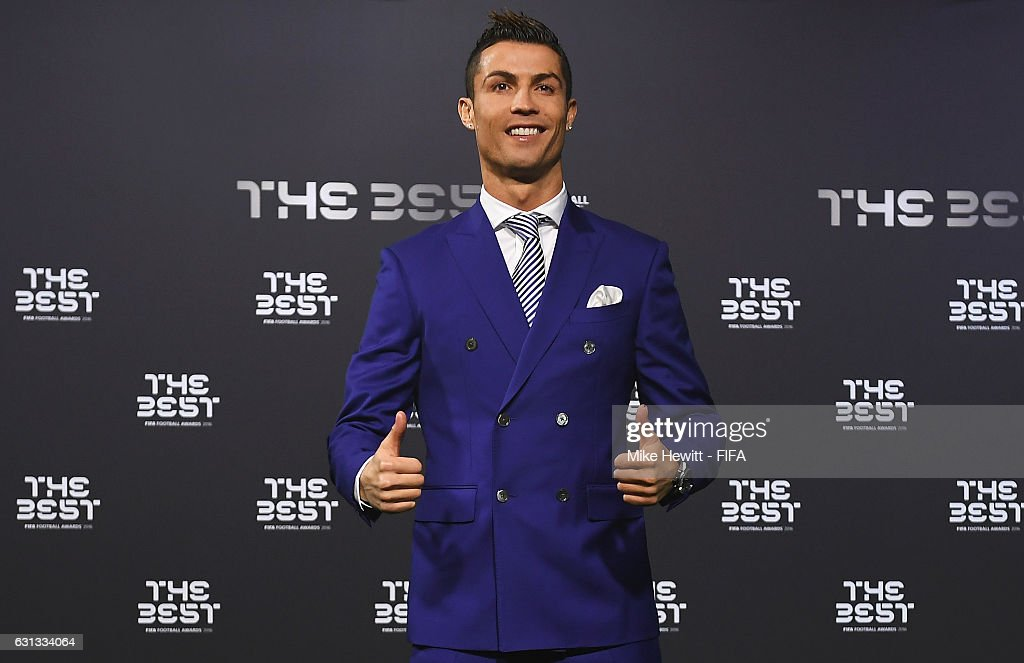 The Best FIFA Men s Player nominee Cristiano Ronaldo of Portugal and ... 3fb9503c6cd00