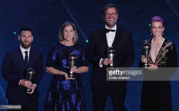The Best FIFA Men's Player of the Year Lionel Messi The Best FIFA Women's Coach of the Year Jill Ellis The Best FIFA Men's Coach of the Year Juergen...