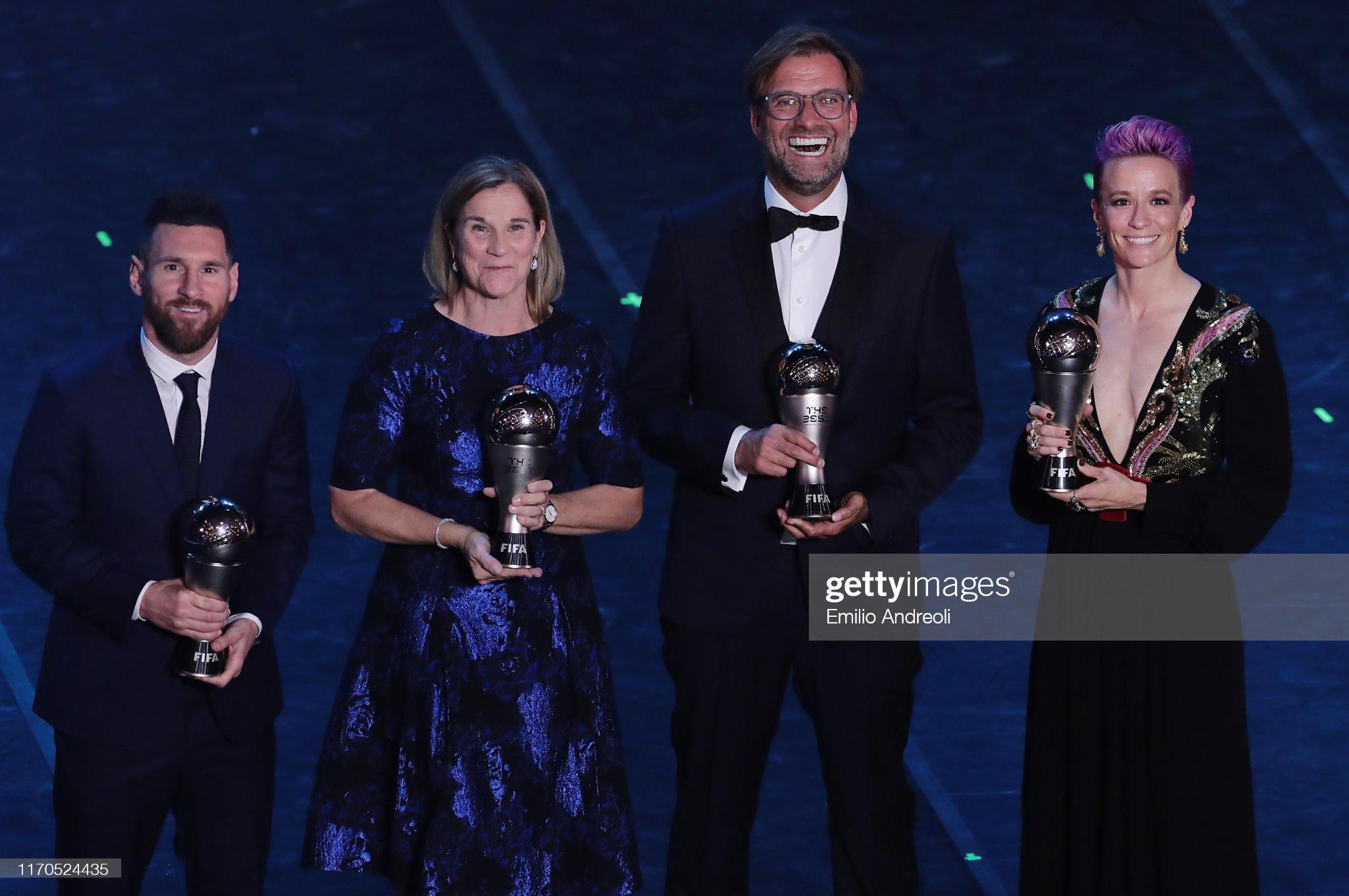 The Best FIFA Football Awards 2019 - Show : News Photo
