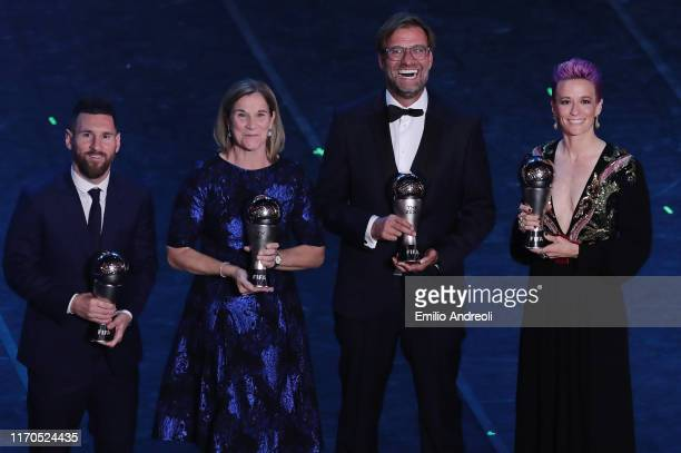 The Best FIFA Men's Player of the Year Lionel Messi, The Best FIFA Women's Coach of the Year Jill Ellis, The Best FIFA Men's Coach of the Year...