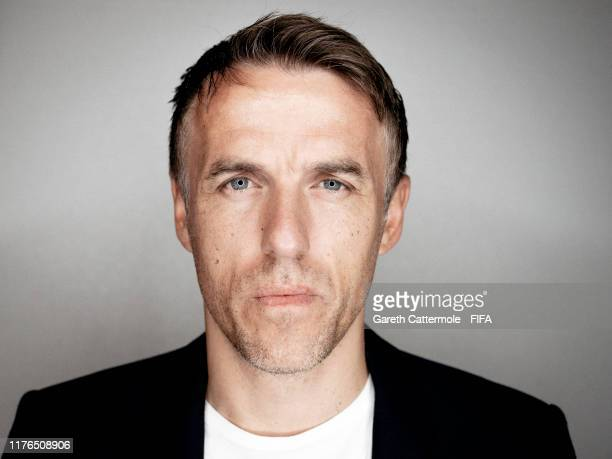 The Best FIFA Women's Coach 2019 finalist Phil Neville, Head Coach of England Women poses for a portrait at Excelsior Hotel Gallia prior to The Best...