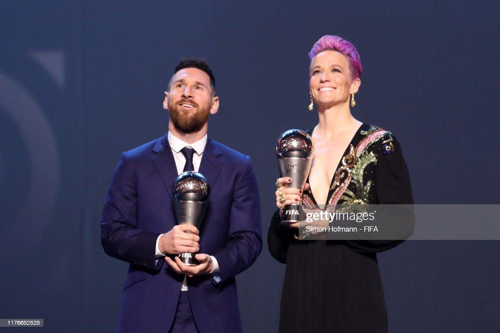The Best FIFA Football Awards 2019 - Show : ニュース写真